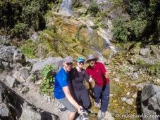 Unterwegs auf dem Inka-Trail mit unserem Guide Joel