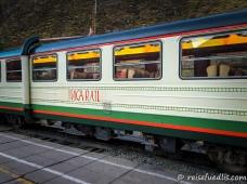 Inca Rail - Bahnlinie von Cuzco nach Aguas Calientes