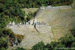 Wiñay Wayna (2650 m) eine Inka-Ruine