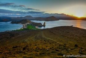 Pinnacle Rock auf der Isla Bartholomé