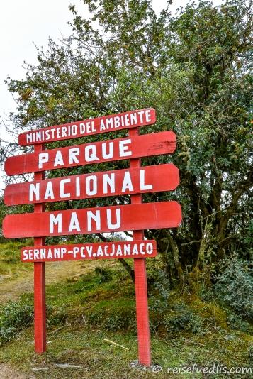 Manú ist ein Nationalpark im Amazonasgebiet im Südosten Perus