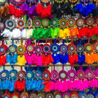 bunter Markt in Otavalo