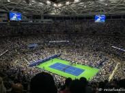 Das Arthur Ashe Stadium bietet Platz für 22.547 Fans
