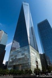 Höchstes Gebäude von NYC und Amerika - One World Trade Center