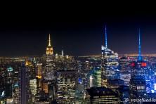 Skyline vom Rockefeller Center aus gesehen