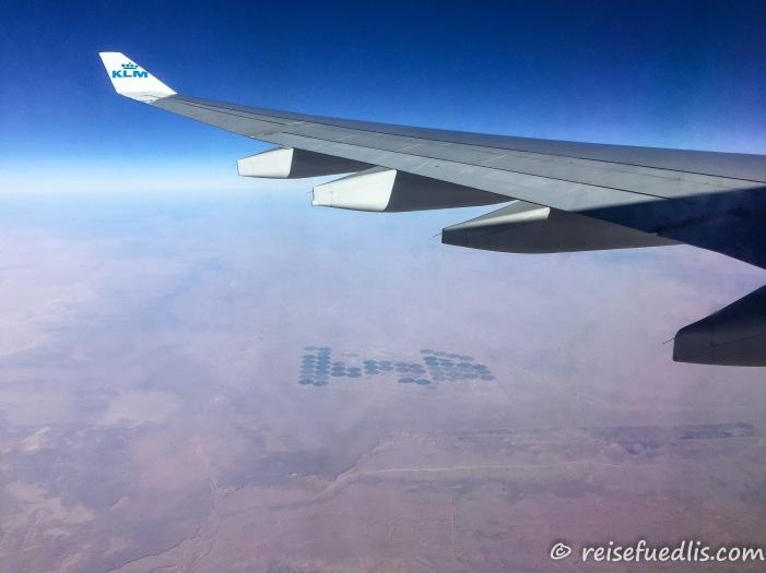 Irgendwo über der Wüste