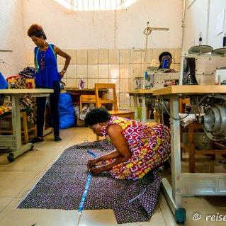 Bei der Arbeit im Nyamirambo Women's Center